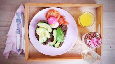 Quarantine kitchen's no-cook Mother's Day breakfast tray