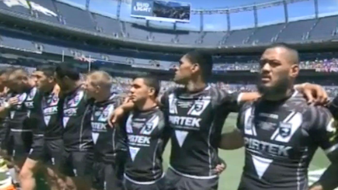 Social media fans slam Denver Test national anthem singer