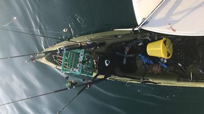 Shark pulls fisherman out of kayak