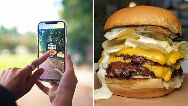 Litt app uses augmented reality to 'catch' burgers