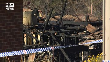 Twin girls have died in a house fire in Batlow, NSW.