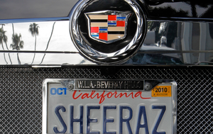 Judge rules California can't ban offensive license plates