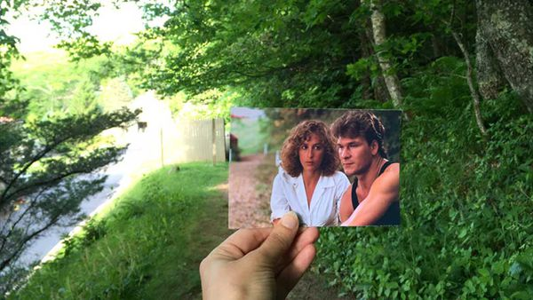 Blogger hilariously matches Dirty Dancing locations with stills from the cult film