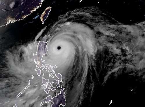 The typhoon made landfall before dawn in the coastal town of Baggao in Cagayan province on the northern tip of Luzon island, an agricultural region of flood-prone rice plains and mountain provinces often hit by landslides.