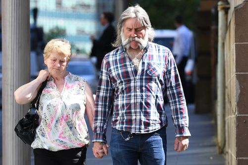 Tina Cahill's parents are in Sydney supporting their daughter as she gives evidence in the manslaughter trial.