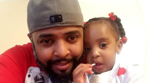 Father allegedly burned daughter, three, alive in chained-up car in New York