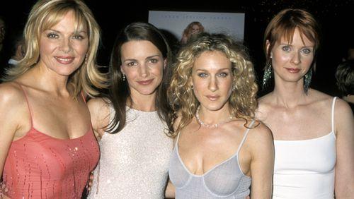 The Sex and the City cast: Kim Cattrall, Kristin Davis, Sarah Jessica Parker and Cynthia Nixon.