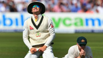 <p>Social media lit up last night as the Aussies' Ashes campaign derailed in spectacular fashion.</p><p>Skipper Michael Clarke bore the brunt of much of the criticism, while some users mined pop culture to sum up a day which will go down in Aussie cricket infamy.</p><p><strong>Click through to see the best reactions online.</strong></p>