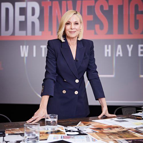 Under Investigation host Liz Hayes.