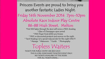 'Ladies night' organiser hits back at sex toy claims