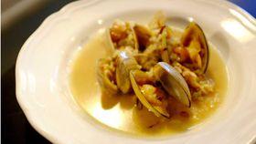 Bar Lourinha's Cloudy Bay clams and sticky pork rice