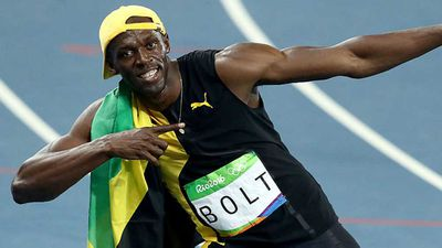 Usain Bolt launches restaurant in London