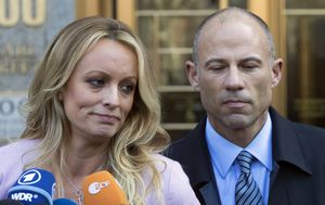 Stormy Daniels former lawyer jailed over bail breach
