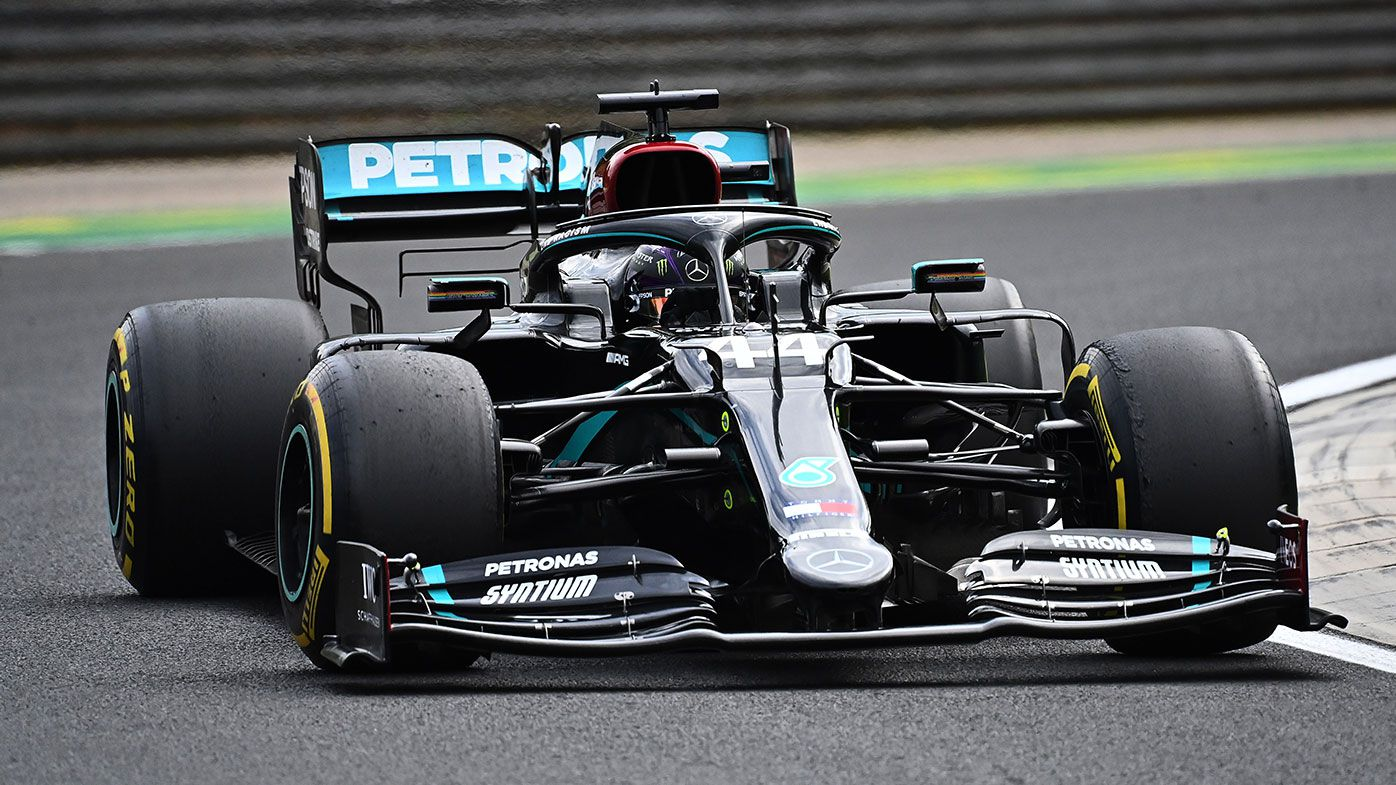 Lewis Hamilton won the Hungarian Grand Prix for the eighth time.