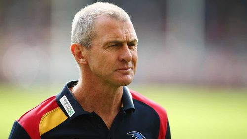 Phil Walsh was allegedly stabbed to death by his son Cy. (Getty)