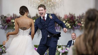 Lizzie and Seb wedding Married At First Sight MAFS 2020