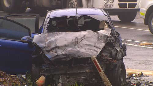 Investigations into the smash are ongoing. Picture: 9NEWS