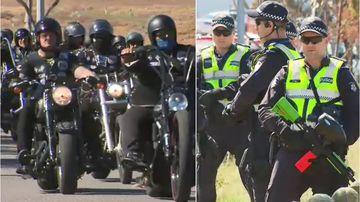 Tensions escalate as Rebels bikies descend on Melbourne