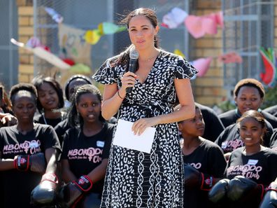 The Duchess spoke of racism she has seen and experienced.