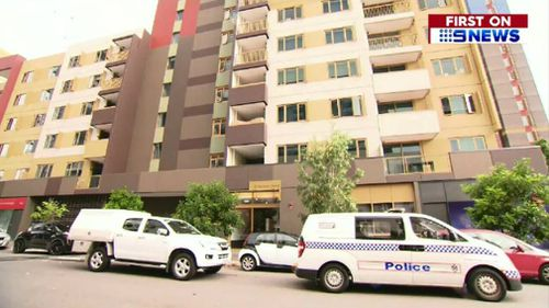 The apartment compex on Constance Street, Bowen Hills. (9NEWS)