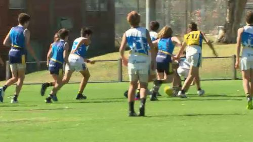 Shadow Treasurer Michael O'Brien voiced concerns over junior clubs having to continue to seek loans despite the bumper deal. (9NEWS)