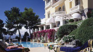 Elton John's home in Nice, France.