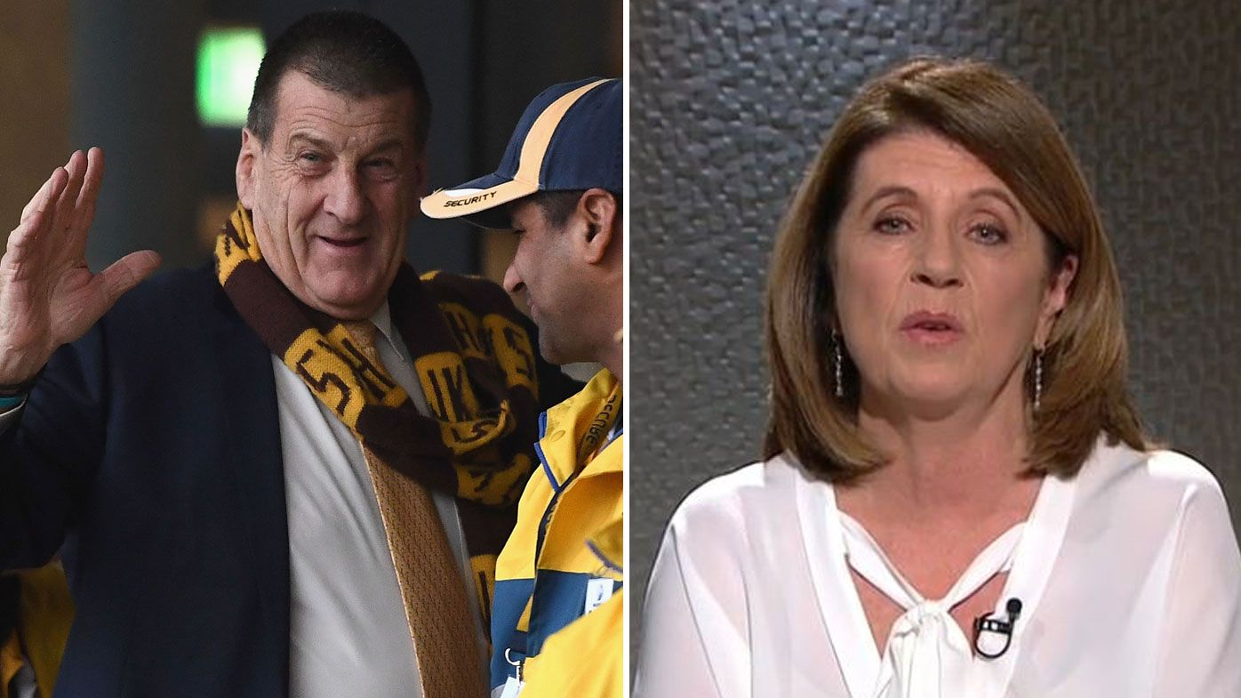AFL: Caroline Wilson criticises 'uneducated' Hawthorn president Jeff Kennett and 'disappointing' AFL CEO Gillon McLachlan