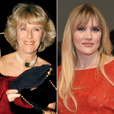 Camilla, Duchess of Cornwall, played by Emerald Fennell