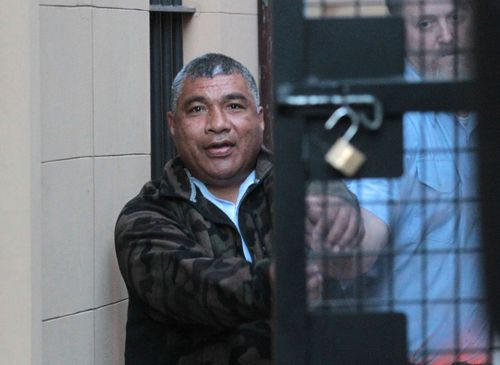 Alani Afu faces life behind bars for the stabbing murder of Rita Caleo in Double Bay. Picture: AAP