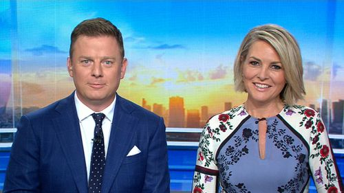 """""""Gee, that was an unfortunate question to miss wasn't it?"""" TODAY presenter Georgie Gardner observed. (TODAY)"""