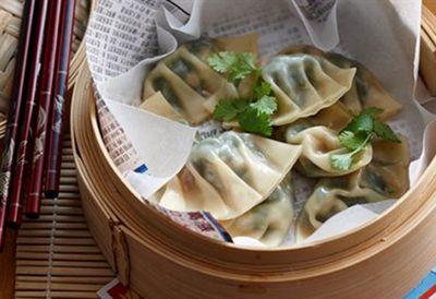 "Recipe:&nbsp;<a href=""/recipes/iprawn/8350372/steamed-prawn-and-watercress-dumplings"">Steamed prawn and watercress dumplings</a>"