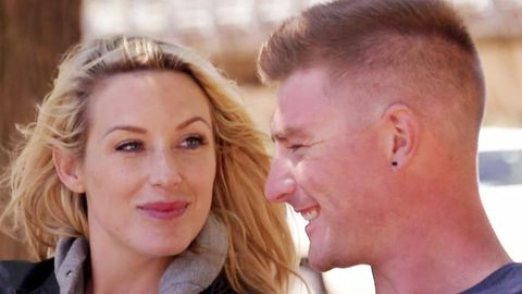 Sharon and Nick on Married At First Sight.