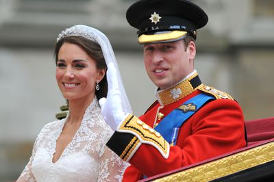 Catherine Middleton weds Prince William, April, 2011