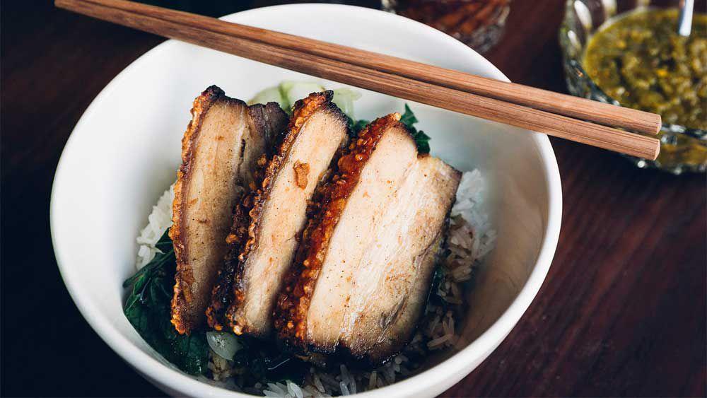 DUK's Chinese roast pork belly recipe