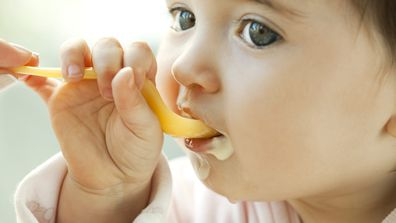 A little more of this, a little less of that. What do babies need to be in great health? Image: Getty.