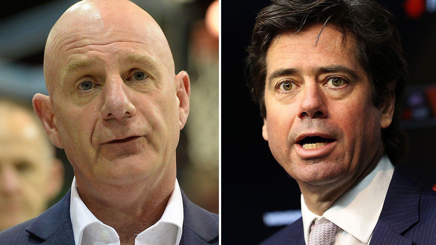Tasmanian premier threatens AFL after Gillon McLachlan's 'unacceptable' response to 19th team bid