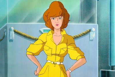 That form-fitting yellow suit! That flaming red hair! Those investigative-reporting skills! No wonder the Turtles were always so happy to drop their pizzas and rescue April from whatever scrapes she'd landed herself in.