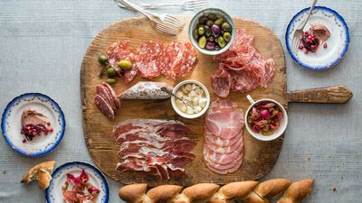 <strong>Sun Princess Share by Curtis Stone - charcuterie selections that inspired the Gwen L.A. meat locker</strong>