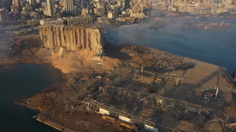 Beirut Explosion Drone Images Reveal Hell Like Landscape Of Destroyed City