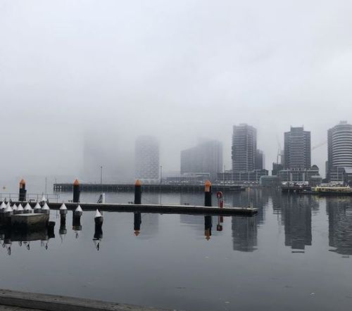 Melbourne is waking up to extremely thick fog this morning, causing visibility issues for motorists.