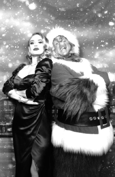 Adele Christmas party photos 2019
