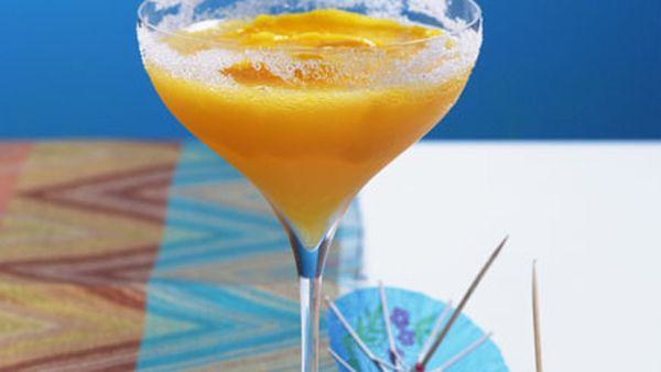 Orange and Almond Crusta