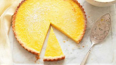 "Recipe:&nbsp;<a href=""http://kitchen.nine.com.au/2016/05/13/12/38/lemon-tart"" target=""_top"">Lemon tart</a>"
