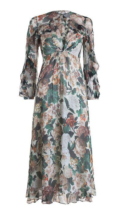 9. A floral dress