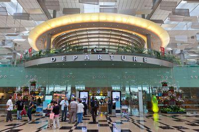 1. Singapore Changi Airport, Singapore