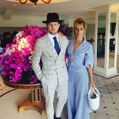Leona Lewis and Dennis Jauch