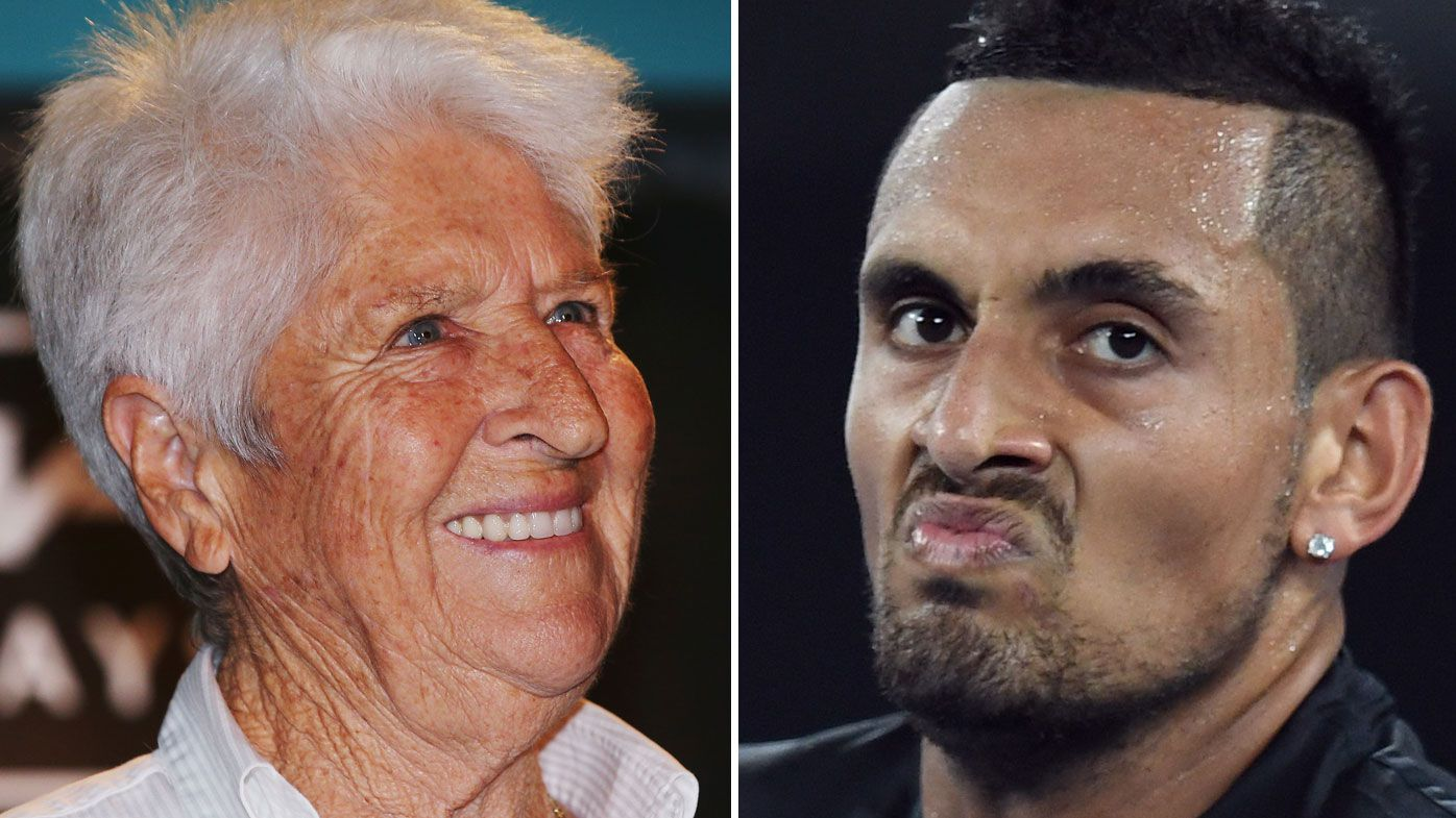 Australian tennis star Nick Kyrgios reopens feud with swimming legend Dawn Fraser