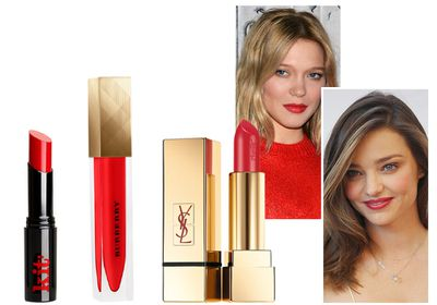 #3 Give some lip with a fiery red pout
