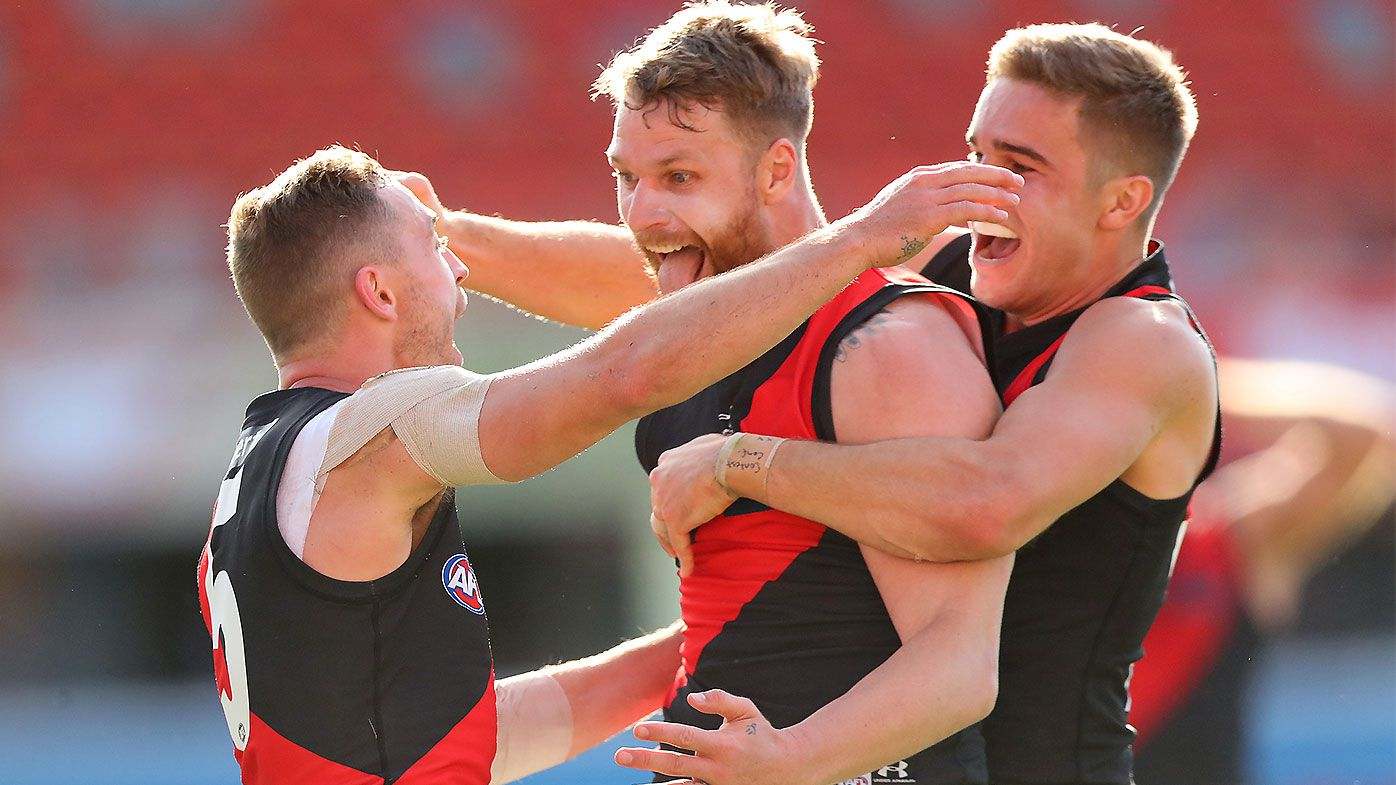 Jake Stringer proves his worth to Essendon with scintillating final quarter against Kangaroos