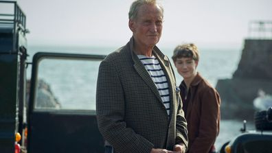 Charles Dance portraying Lord Mountbatten in Season 4 of The Crown.